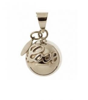 "BOLA Silver Plated ""love"""