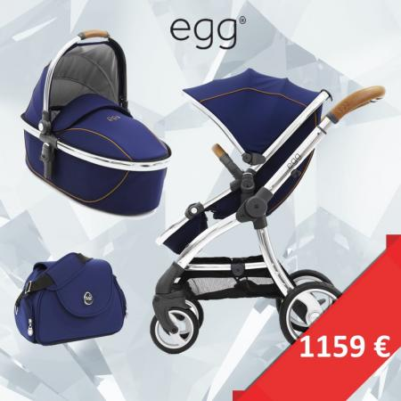 EGG akciový set REGAL NAVY, rám mirror