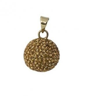 BOLA Goldplated with Glitter Stones