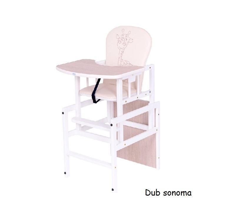9346496cf93b Jedálenská stolička ANTONÍN ŽIRAFA Drewex