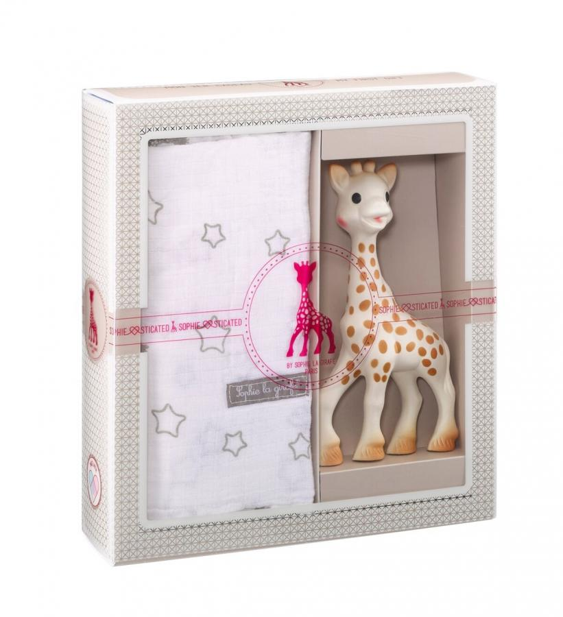 08771c5cf5a6 SOPHIE Môj prvý darčekový set žirafa Sophie   plienka